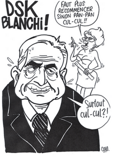 Une caricature prémonitoire du candidat Strauss-Kahn ?